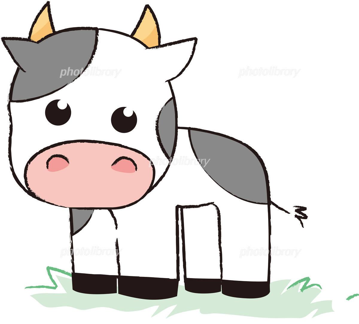 牛のイラスト イラスト素材 348252 フォトライブラリー Photolibrary