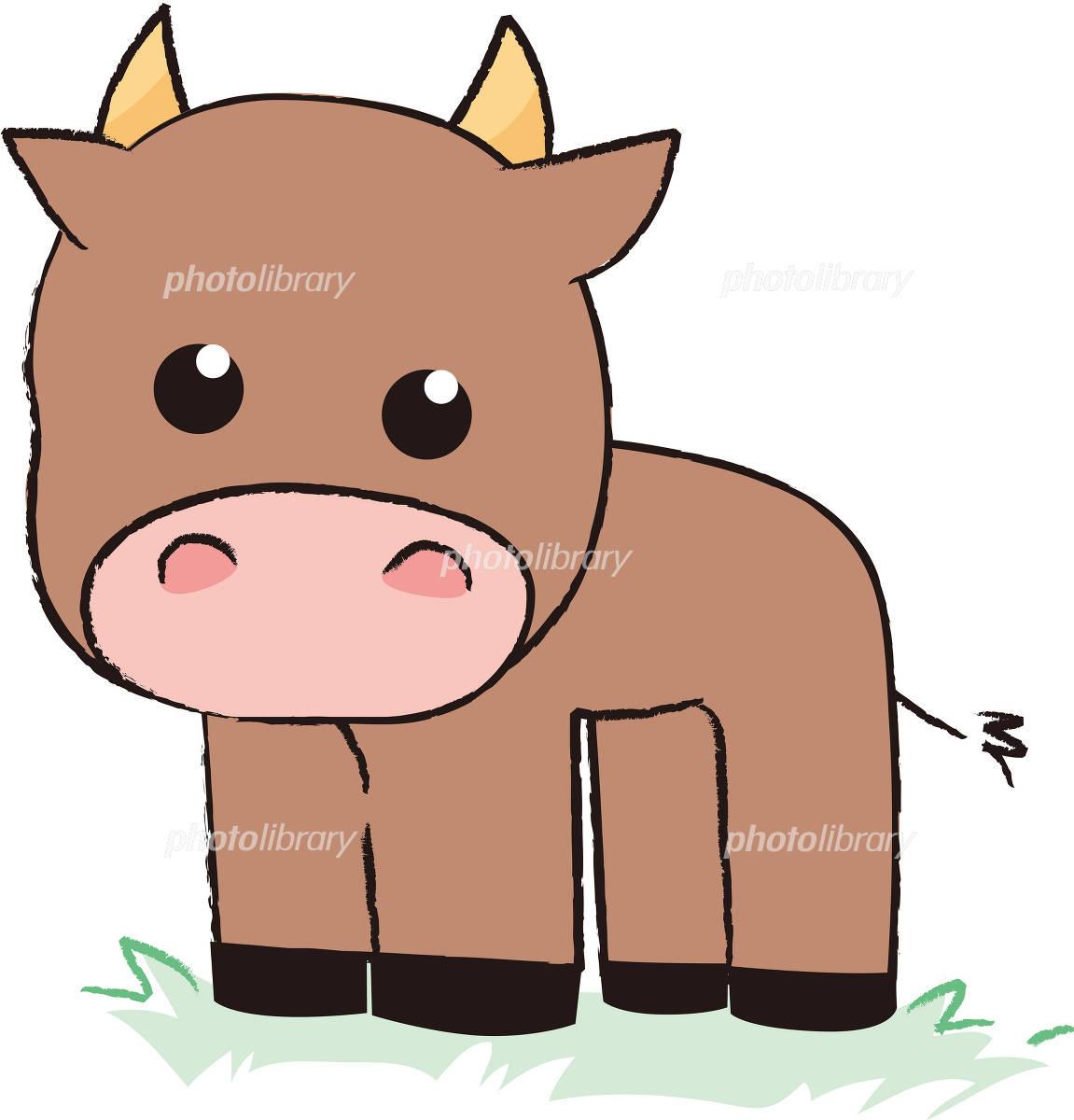 牛のイラスト イラスト素材 348253 フォトライブラリー Photolibrary