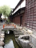 Alley of Gujo Hachiman Yanaka water Stock photo [340417] Kyoto