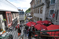 Quebec City Petit-Champlain Street Stock photo [347746] Quebec