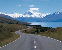 New Zealand Mount Cook Stock photo [405791] New