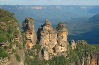 Blue Mountains Three Sisters Stock photo [412319] World