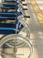 Sun hits the wheelchair Stock photo [461682] Wheelchair