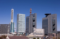 Skyscrapers of Saitama New Urban Center Stock photo [465202] See