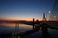 Aomori Bay Bridge dawn Stock photo [466471] Aomori