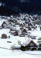 Winter of Shirakawa-go Stock photo [516283] World