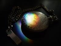 Rainbow and pocket watch Stock photo [517703] Rainbow