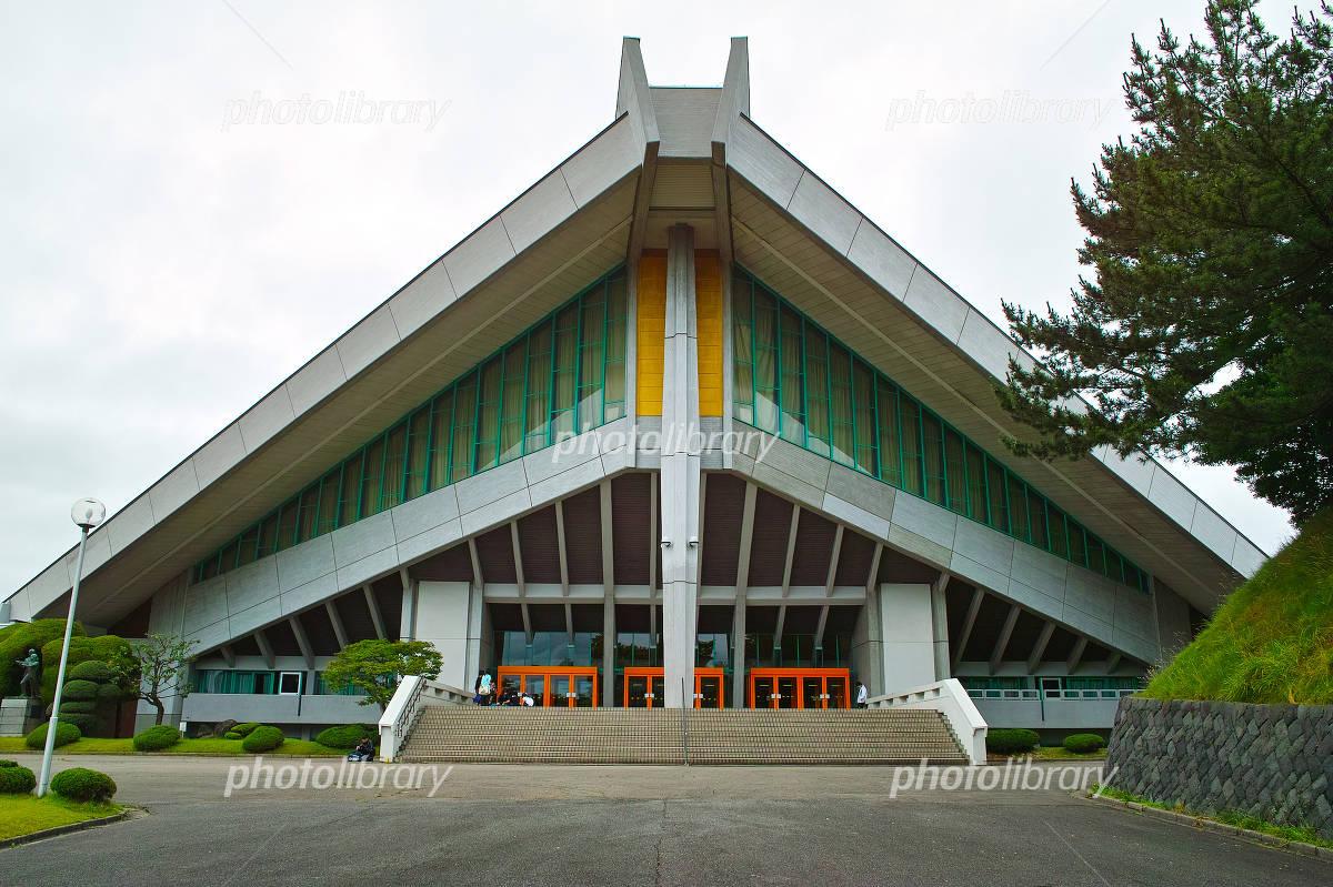 秋田県立体育館 写真素材 [ 560831 ] - フォトライブラリー photolibrary