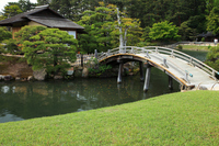 Okayama Korakuen Nakanoshima Stock photo [552429] Arched