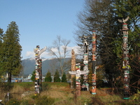 Totem pole Stock photo [558159] Kanata