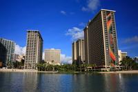 Landscape of Hawaii Waikiki Stock photo [560246] Hawaii
