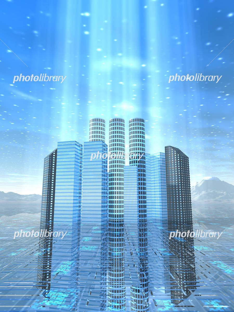 高層ビル CG-写真素材  高層ビル CG 画像ID 612508  高層ビル CG