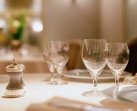 Restaurant table setting image Stock photo [604427] Restaurant