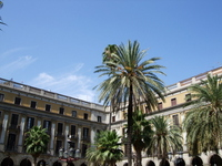 Placa Reial Stock photo [605099] Spain