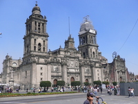 Mexico City, views of the Zocalo Stock photo [605197] Mexico