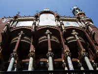 Palau de la Musica Catalana Stock photo [605959] Spain