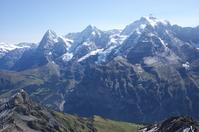 Eiger, M旦nch, Jungfrau mountain range of Stock photo [608911] Jungfrau