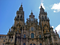 Spain Santiago de Compostela Cathedral Stock photo [613815] Santiago