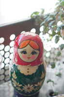 Cute doll that was decorated by the window Stock photo [677467] Window