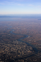 Chikugo River Aerial Stock photo [678640] Fukuoka