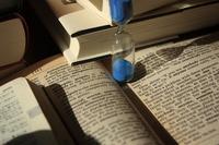 Study Stock photo [681423] Hourglass
