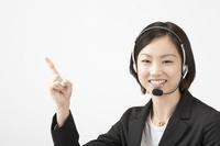 Woman operator Stock photo [682025] A