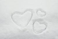 Snow Heart Stock photo [689328] Hart