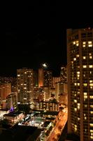 Night view of Honolulu Stock photo [769592] Honolulu
