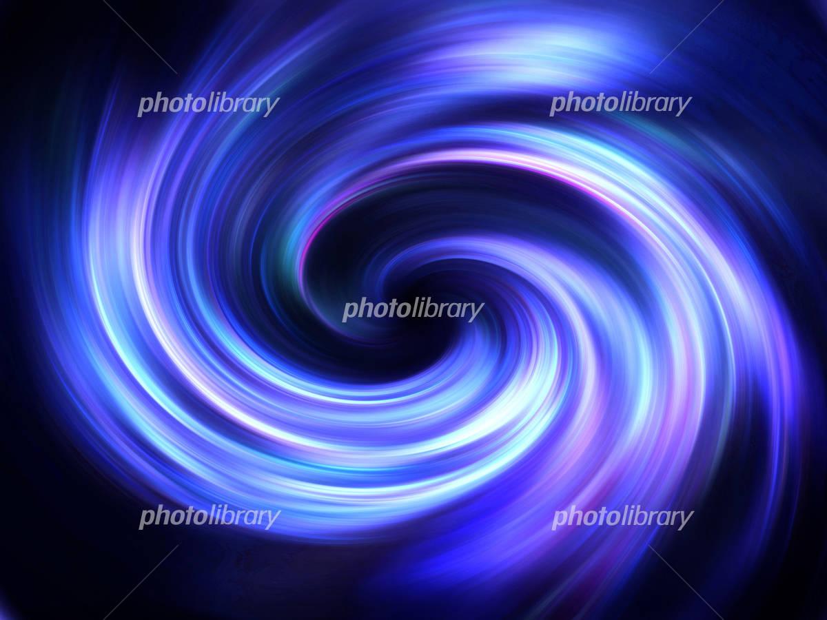 光の渦のイラスト素材