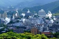 Yukemuri of Beppu Onsen Kannawa Stock photo [846195] Steam