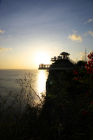 Sunset of Guam Two Lovers Point Stock photo [846479] Guam