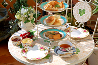 English afternoon tea tea and cookies Stock photo [856898] Afternoon