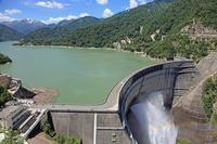 Black four dam Stock photo [929971] Kurobe