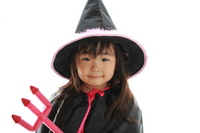 Halloween girl Stock photo [930277] Girls
