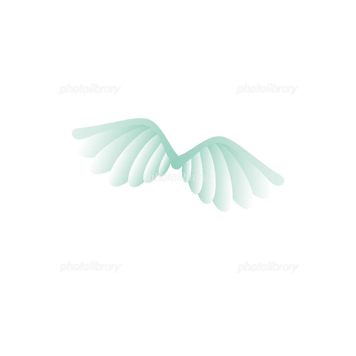 翼のイラスト イラスト素材 1027976 フォトライブラリー Photolibrary