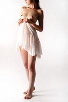 Semi-Dress Stock photo [1029635] Nude