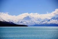 New Zealand World Heritage Mount Cook Stock photo [1030304] New