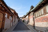 Seoul Bukchon Hanok Village Stock photo [1033500] Korea