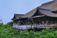 Kyoto Higashiyama Kiyomizu Temple main hall Stock photo [1037685] Kiyomizu-dera