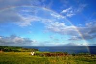 The sea and the rainbow Stock photo [1037805] Okinawa