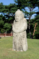 Stone statue of Seolleung Royal Tombs of the Joseon Dynasty 40 groups Stock photo [1039236] Korea