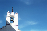 Church of white village Casares Stock photo [1139741] Overseas