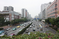 China Guangzhou City, Dongfeng Middle Road Stock photo [1247830] China