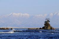 Toyama Bay and Tateyama mountain range Stock photo [1248575] Tateyama