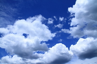 Blue sky and clouds Stock photo [1336853] Blue