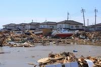 Great East Japan Earthquake and tsunami Stock photo [1338034] Tohoku-Pacific