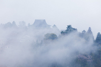 Fog of Yoshino Zao-do Stock photo [1338331] Nara