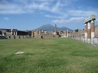 Pompeii ruins Stock photo [1339438] Vesuvius