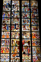 Cologne Cathedral stained glass Stock photo [1340843] Cologne