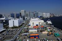 Shibaura Pier and Tokyo buildings Stock photo [1340902] Shibaura